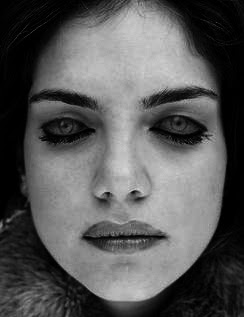 illusions optical scary illusion eye eyes tricks cool open eyelids another terrifying closed creepy painted fake stare she mind painting