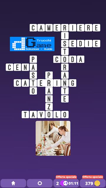Soluzioni One Clue Crossword livello 25 schemi 5 (Cruciverba illustrato)  | Parole e foto