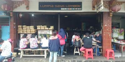 Kedai Lumpia Semarang Gang Lombok