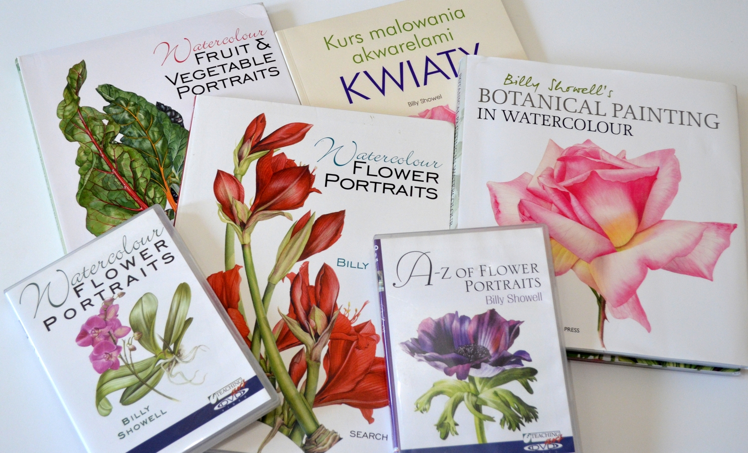 Heres My Billys Collection Unfortunately Polish Edition Of A Z Flower Portraits Looks Terrible When Compared With English And I Think