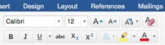 Cara Membuat Pangkat Di Microsoft Word (MS Word) - Bilangan Pangkat