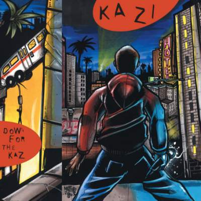 Kazi & Madlib - Down 4 The Kaz (EP) - Album Download, Itunes Cover, Official Cover, Album CD Cover Art, Tracklist