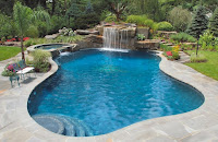 outdoor garden pool