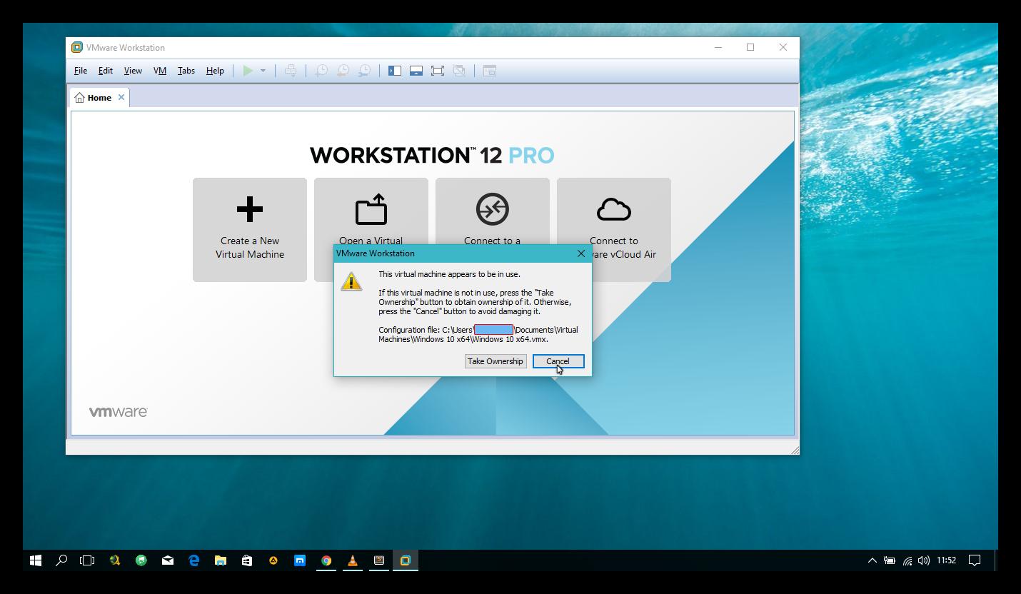 VMWARE WORKSTATION PRO 12 en WINDOWS 10 solucion rapida y sencilla