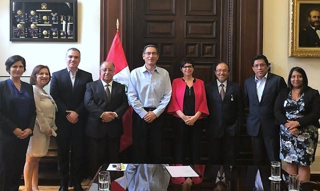 La Comisión de Alto Nivel para la Reforma Política del Perú
