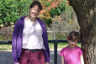 Chantelle McDougall — pictured with her six-year-old daughter Leela — left a note saying the group was headed to Brazil.