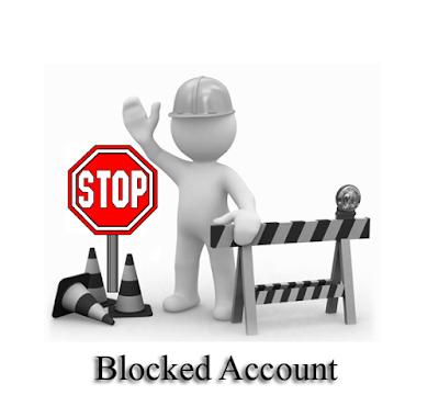 Blocked Account