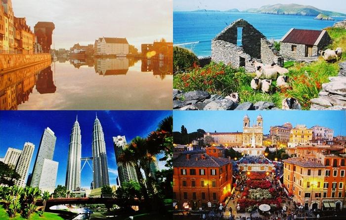 178 . - 181. Polska, Włochy, Irlandia, Malezja