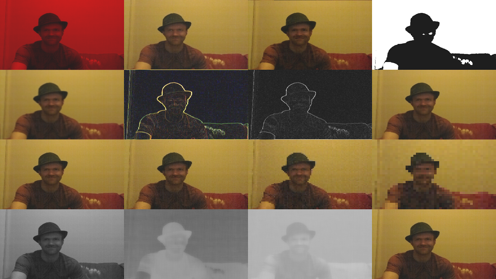 My Robot Blog: GPU Accelerated Camera Processing On The Raspberry Pi