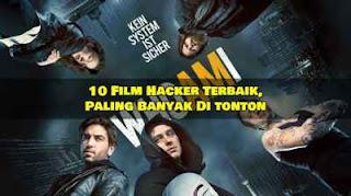 15 Film Hacker Terbaik, Paling Banyak Dicari