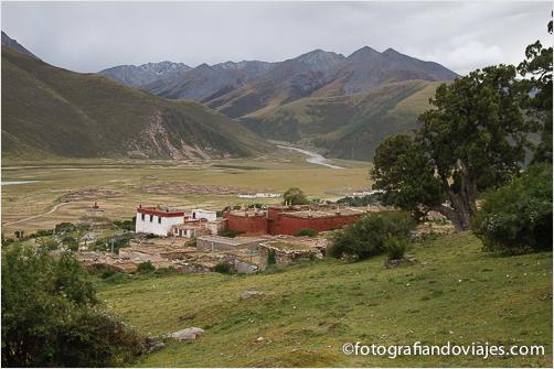 monasterio de Reting Tibet