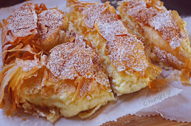 Bougatsa with Stevia