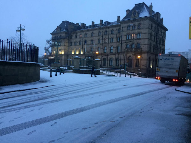 Safety advice issued as snow hits Bradford district
