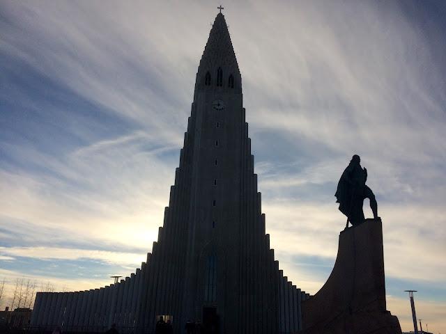 Hallgrímskirkja Church Reykjavik Iceland Photo - Bearded Couture