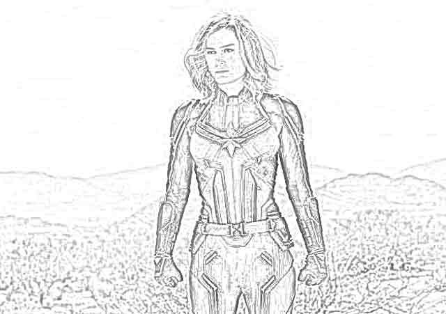Coloring Pages Avengers 4 Coloring Pages Free And Downloadable