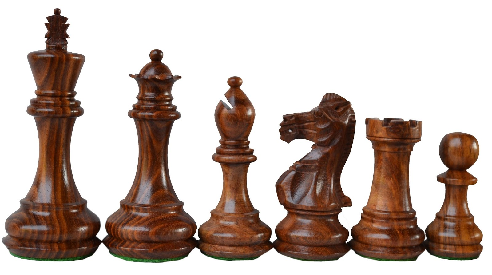 Limited Edition Wooden Weighted Chess Set Rosewood