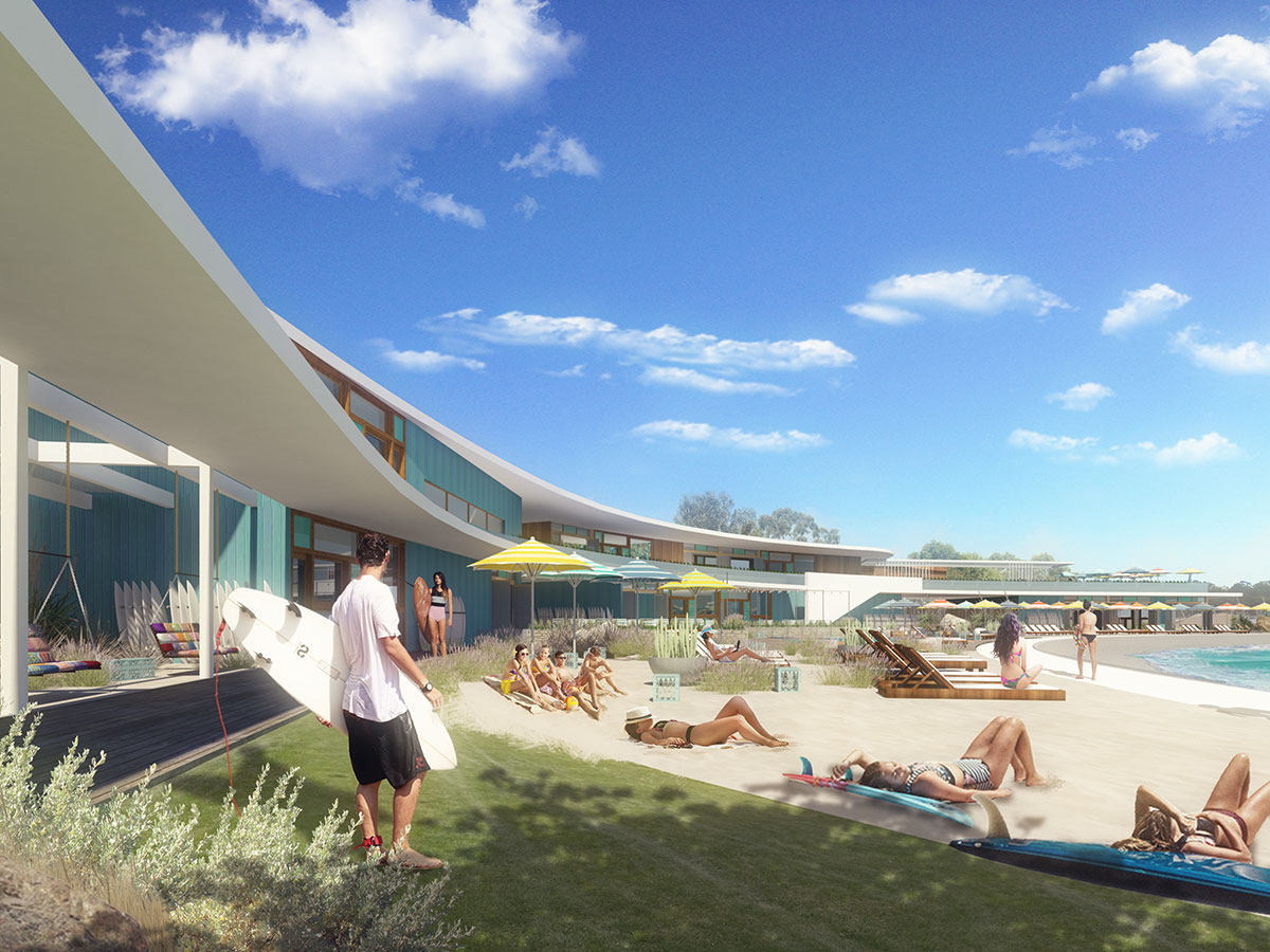 URBNSURF Perth Project Lagoonside