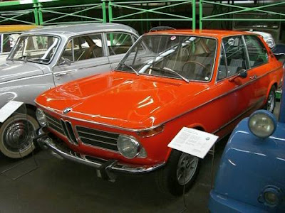 Coche BMW clasico