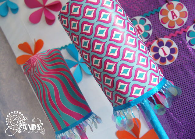 peace party paper lamps