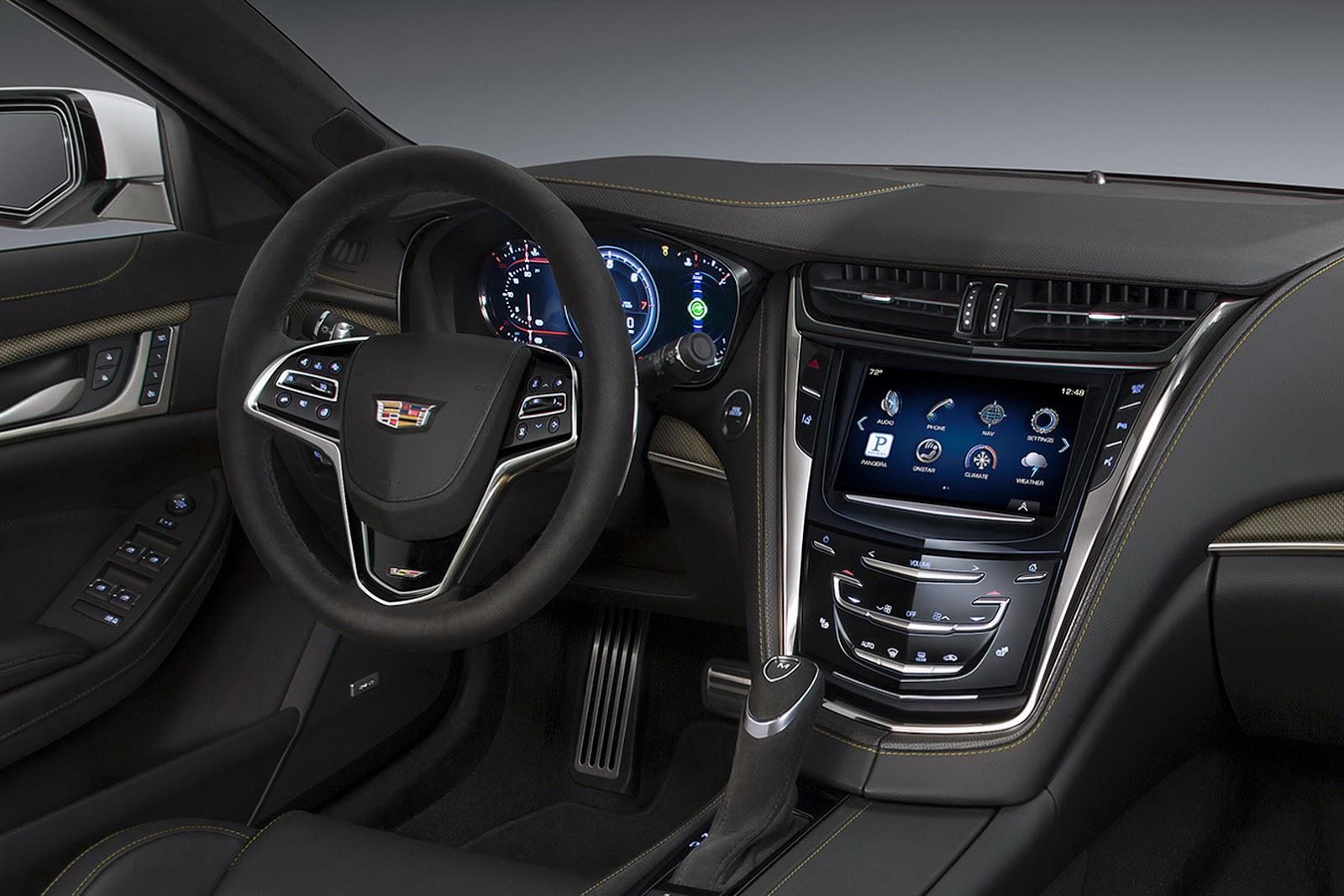 New 2016 Cadillac Cts V Has 640hp Supercharged V8 Reaches