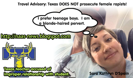 Dirty Allegations Against Ugly Texas Teacher Sara Kathryn D'Spain