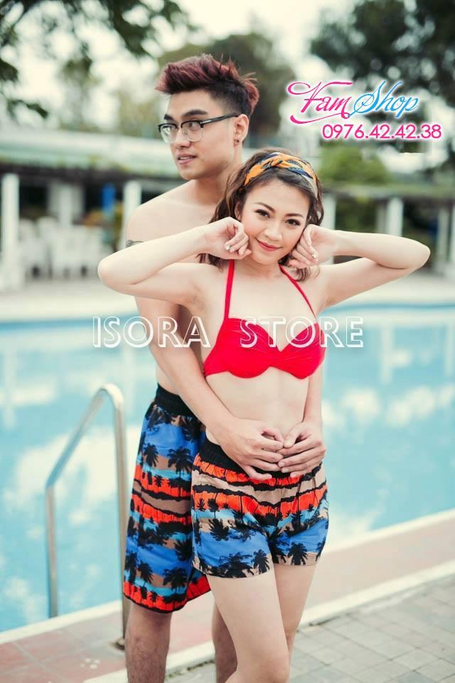 Cua hang do di bien tai Giang Vo