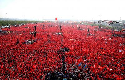 Törökország, török puccskísérlet, Recep Tayyip Erdogan, Ankara