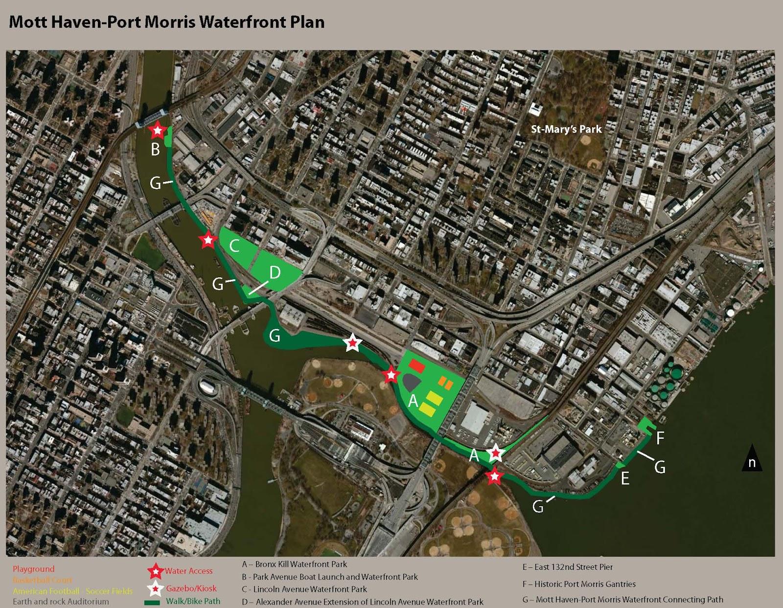Pleasant The Mott Haven Port Morris Waterfront Plan South Bronx Unite Largest Home Design Picture Inspirations Pitcheantrous