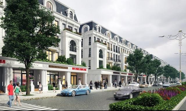Khu Shophouse dự án Louis City
