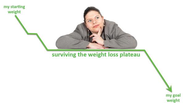 Weight Loss Graph Plateau
