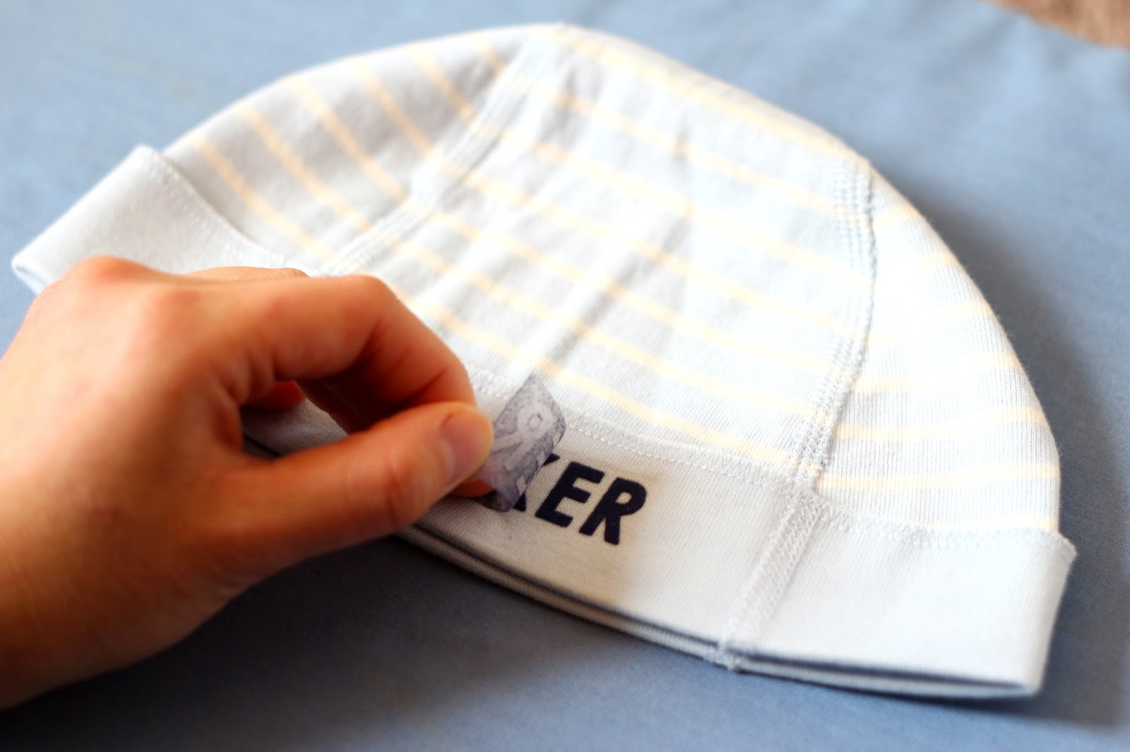 DoLeeNoted  DIY Personalized Baby Hat f1fb1bf9cb4