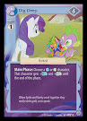 My Little Pony Dig Deep Premiere CCG Card