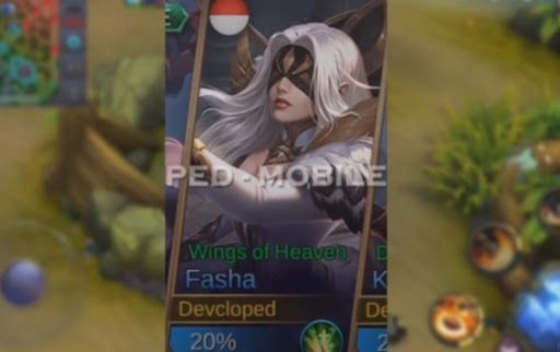 New Fasha Skin  – Wings of Heaven