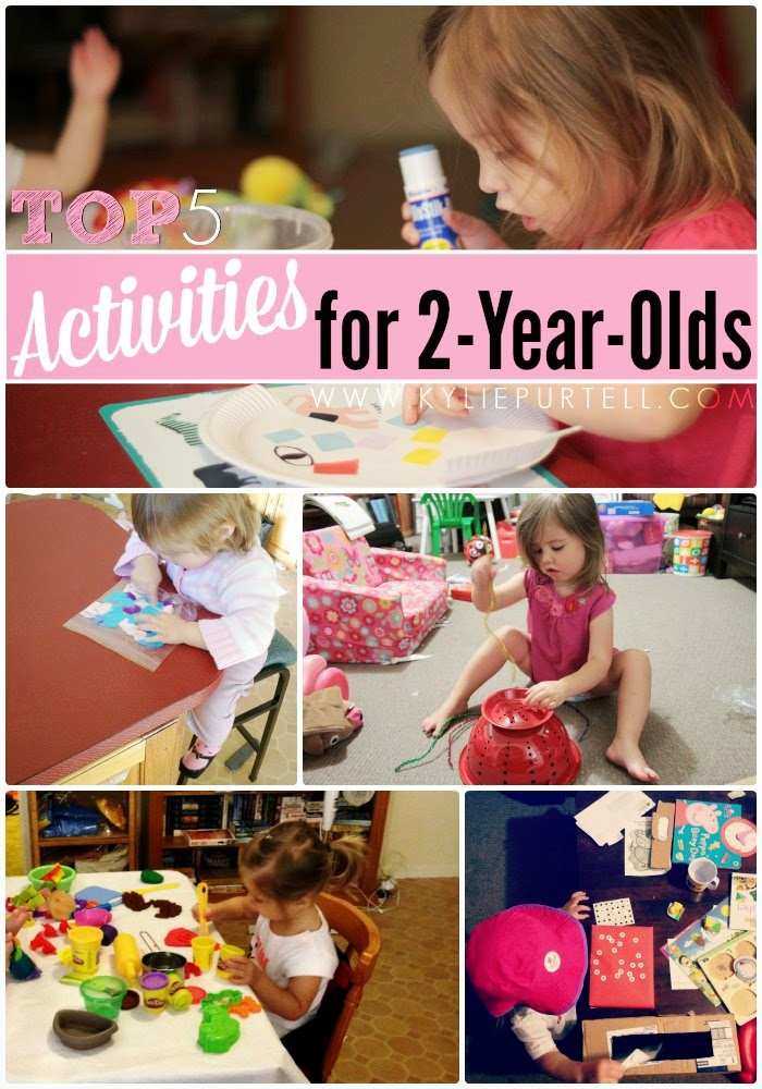Top 5 activities for 2 year olds kylie purtell for Arts and crafts for 2 year olds