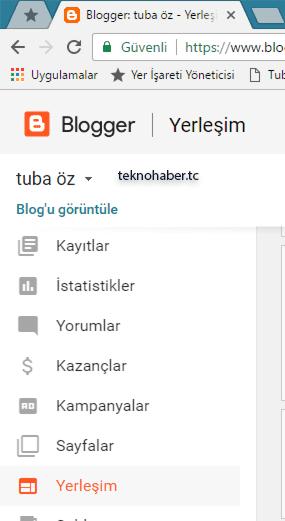 blogger-şablon