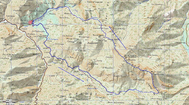 Mapa Maciédome