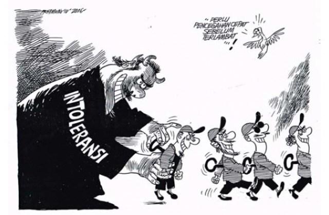 Bagaimana Cara Anda Melawan Korupsi dan Intoleransi ?