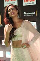 Prajna Actress in backless Cream Choli and transparent saree at IIFA Utsavam Awards 2017 0081.JPG