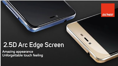 gionee m5 screen