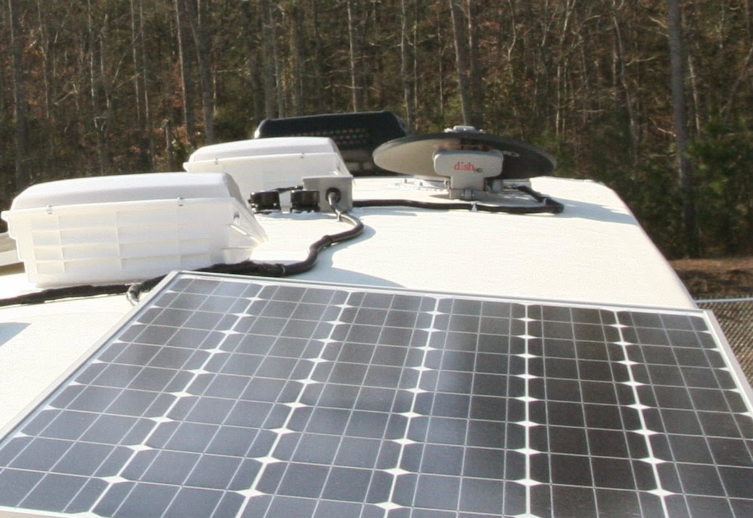 2015 Montana 3611rl Installing Solar Panels Automatic
