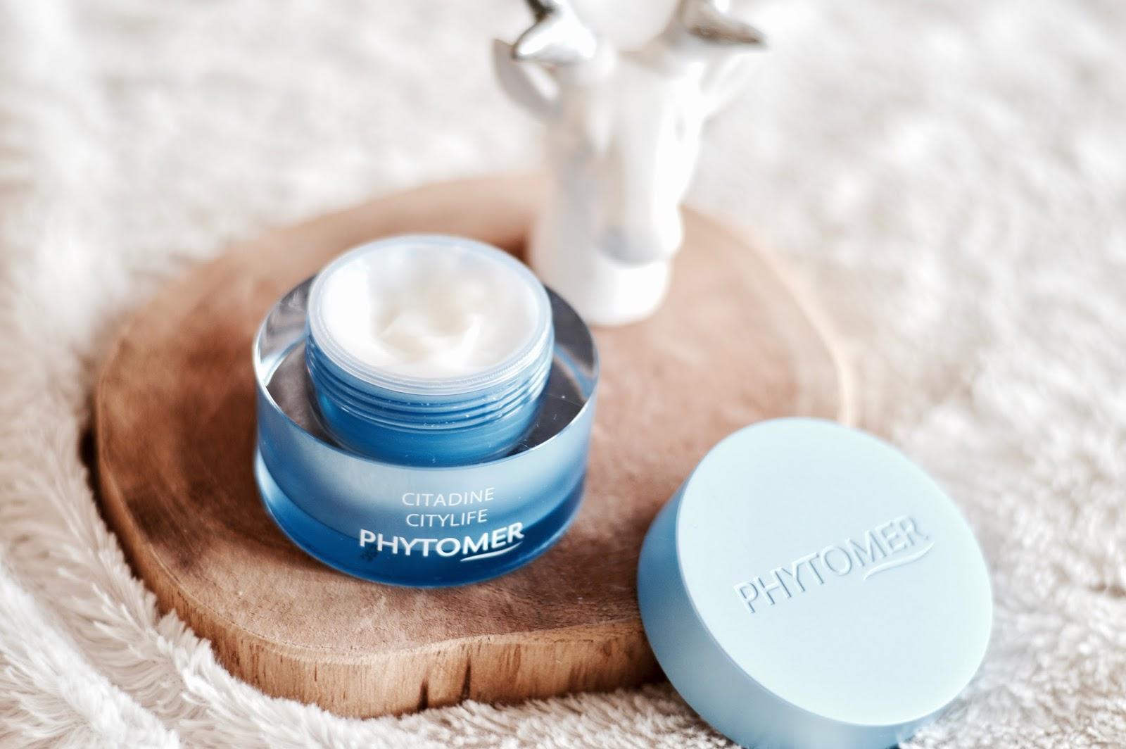 crème de jour CITADINE Phytomer test et avis