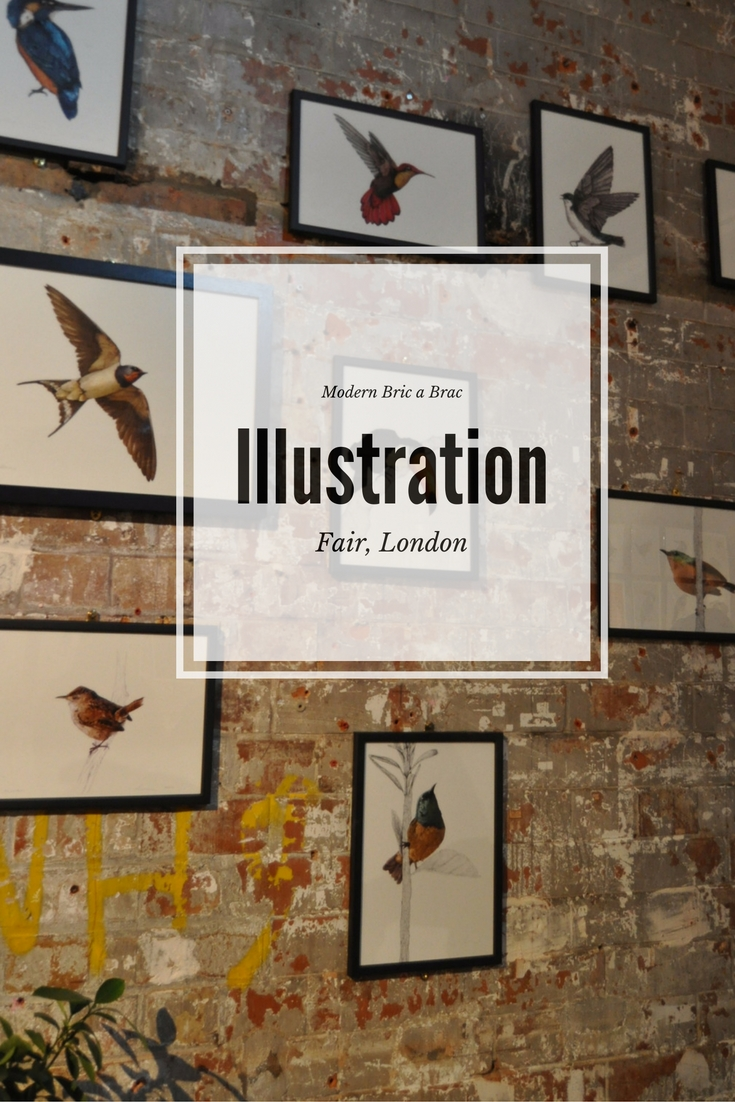 Days Out - The London Illustration Fair 2016, photo by modern bric a brac