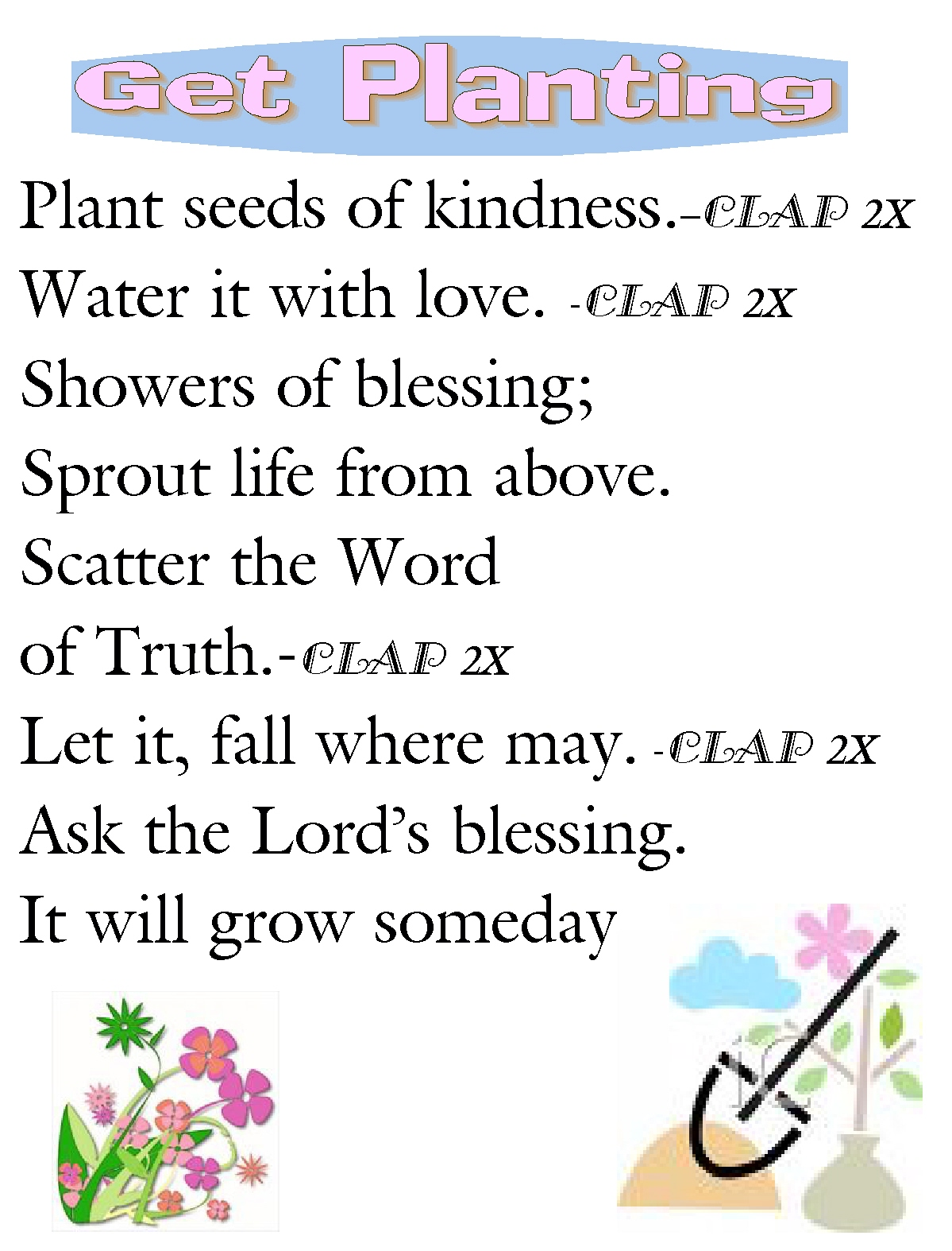 Children S Gems In My Treasure Box Plant The Seed