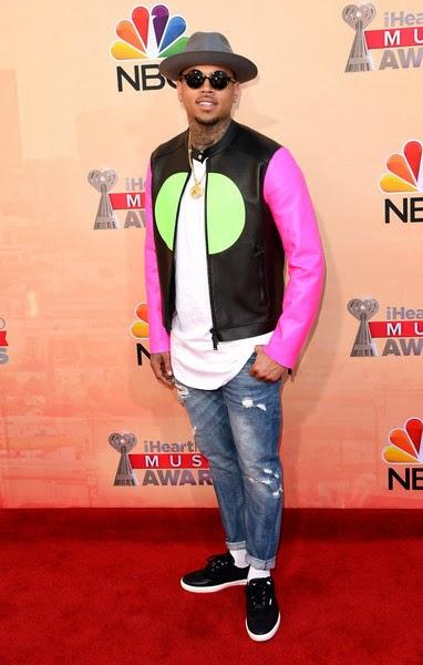 Glowy: Chris Brown In Jimmy Choo Brian Wingtip Sneakers