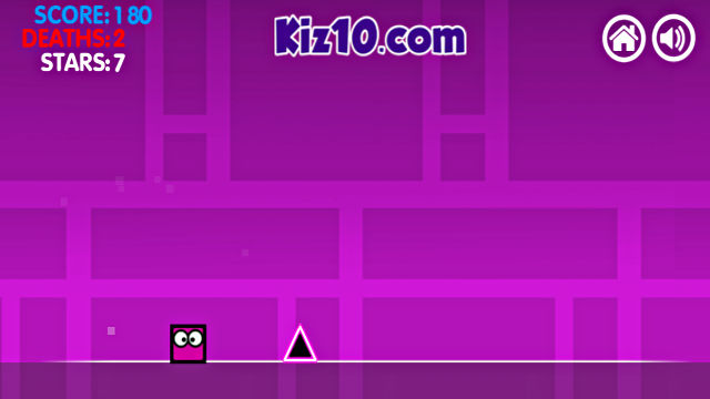 Geometry Dash Neon World - Image du Jeu