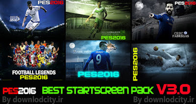 PES 2016 Best StartScreen Pack V3.0 by downlodcity