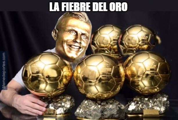 El Madrid y Cristiano tienen la fiebre del Oro