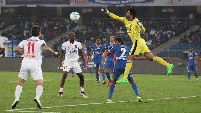Hero ISL 2016: Delhi Dynamos FC beat FC Goa