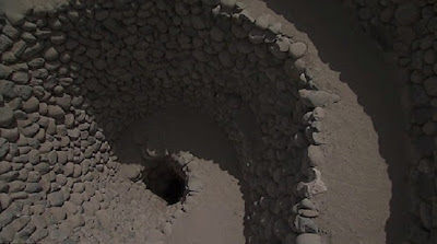 Ancient spirals in Peruvian desert used as 'sophisticated' irrigation system