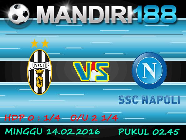 Prediksi Juventus vs Napoli 14 Februari 2016